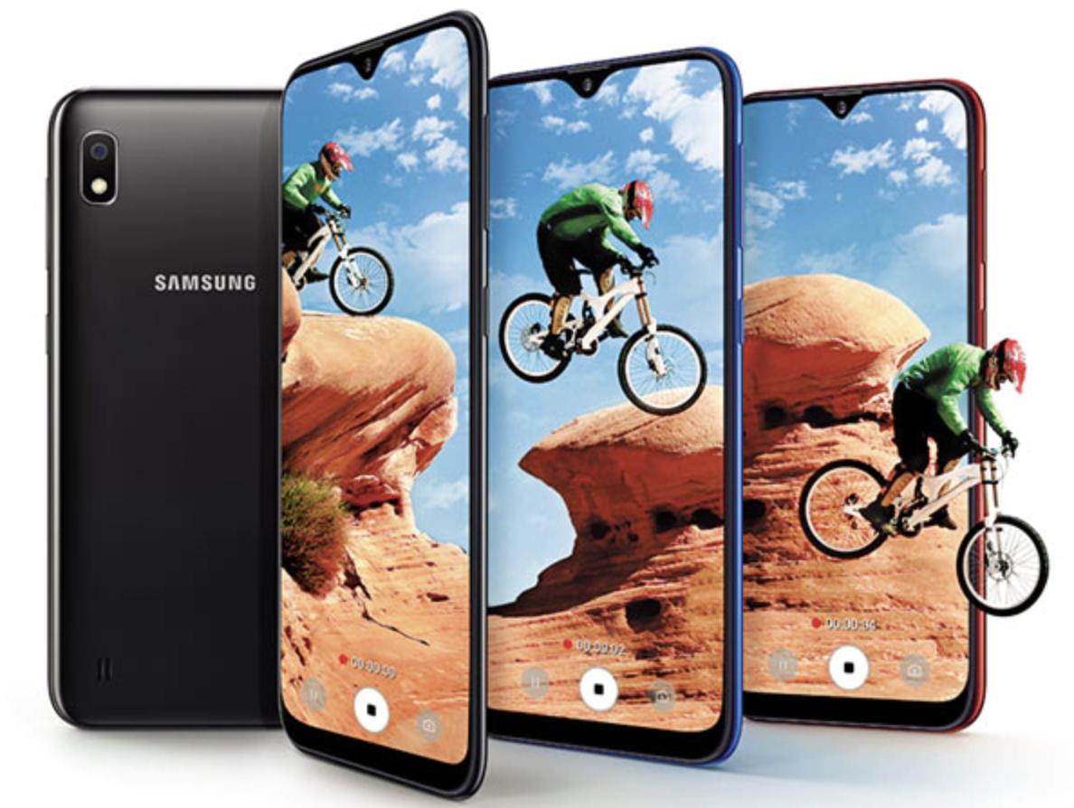 Samsung Galaxy A10 ra mắt tại MWC 2019.