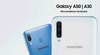 Camera kép trên điện thoại Samsung Galaxy A30 hỗ trợ hình ảnh sắc nét