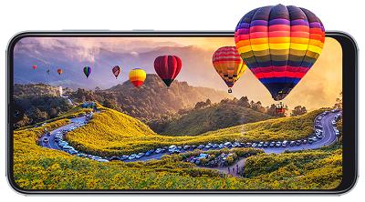 Công nghệ màn hình Infinity-U được tích hợp trên Samsung Galaxy A50