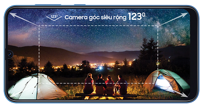 Camera với nhiều tính năng thông minh trên Samsung Galaxy A50