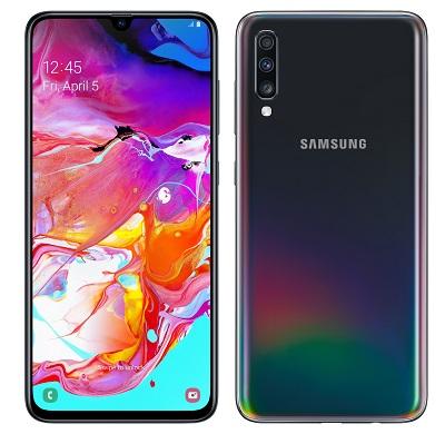 Tổng quan thiết kế chung của điện thoại Samsung Galaxy A70
