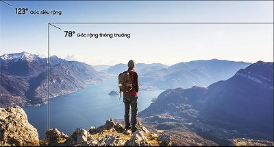 Tính năng chụp siêu rộng trên camera của Samsung Galaxy A70
