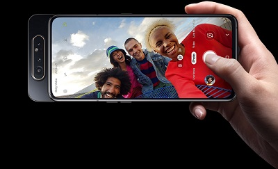 Camera selfie với chất lượng hình ảnh cực đỉnh trên Samsung Galaxy A80