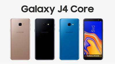 Samsung Galaxy J4 Core với 3 màu sắc nổi bật