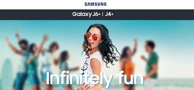 Điện thoại Samsung Galaxy J6+