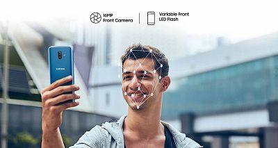 Tính năng bảo mật nhận diện khuôn mặt được tích hợp trên Samsung Galaxy J8