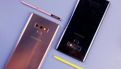 Cụm camera kép trên điện thoại Samsung Galaxy Note 9