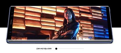 Tính năng Live Focus trên điện thoại Samsung Galaxy Note 9