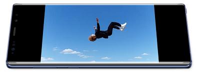 Chế độ quay siêu chậm trên điện thoại Samsung Galaxy Note 9
