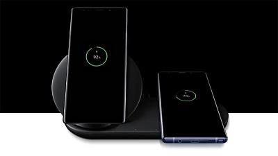 Sạc không dây trên Samsung Galaxy Note 9