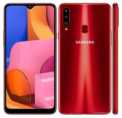 Tổng quan thiết kế chung của điện thoại Samsung Galaxy A20s