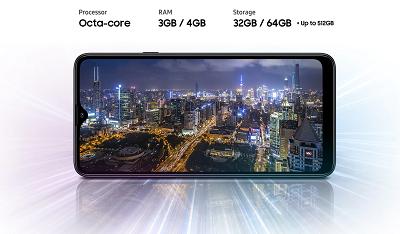 Hiệu năng mạnh mẽ trên Samsung Galaxy A20s