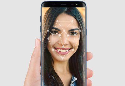 Tính năng bảo mật nhận diện khuôn mặt được tích hợp trên Samsung Galaxy J6 Infinity