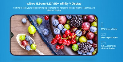Công nghệ Infinity-V trên dòng điện thoại Samsung Galaxy M20