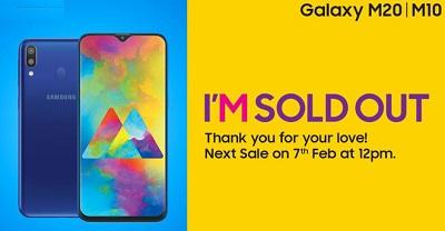 Điện thoại Samsung Galaxy M20