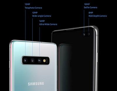 Cụm camera với độ phân giải cực khủng trên Samsung Galaxy S10 Plus