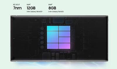 Hiệu năng mạnh mẽ trên Samsung Galaxy Note 10+