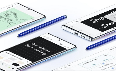 Bút S-Pen thông minh trên Samsung Galaxy Note 10+