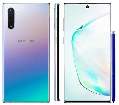 Tổng quan thiết kế chung của điện thoại Samsung Galaxy Note 10+