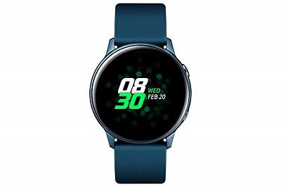 Màn hình hiển thị sắc nét với công nghệ AMOLED trên Smartwatch Samsung Galaxy Watch Active