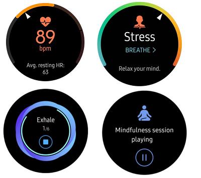 Tính năng hỗ trợ ưu việt, chuẩn xác trên smartwatch Samsung Galaxy Watch Active
