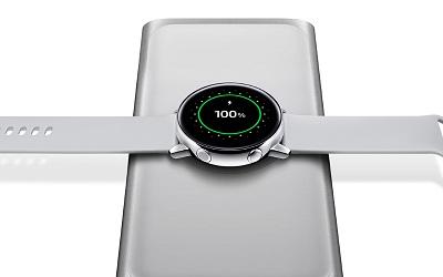 Tính năng sạc không dây trên đồng hồ thông minh Samsung Galaxy Watch Active