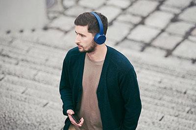Tai nghe Sony WH-CH500 thể hiện phong cách của người sử dụng.