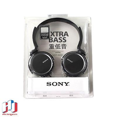 Phần hộp của tai nghe Sony MDR-XB250