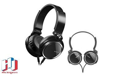 Sony MDR-XB250 với thiết kế earcup xoay 90 độ