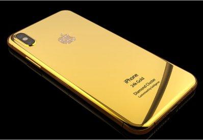 Phiên bản Iphone X cho dân chơi siêu giàu
