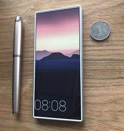 Lộ diện mẫu điện thoại không viền đích thực