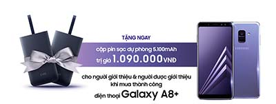 Giới thiệu Samsung Galaxy A8 Plus - Nhận quà đã