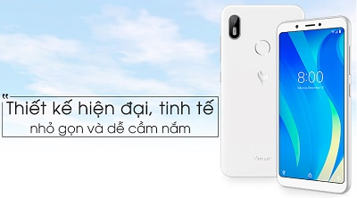 Điện thoại Vsmart Joy 1 - lối thiết kế hiện đại, tinh tế