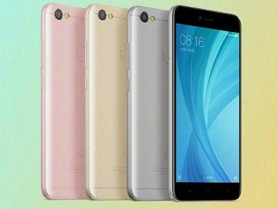 Xiaomi Redmi Note 5A Prime với những màu sắc của máy.