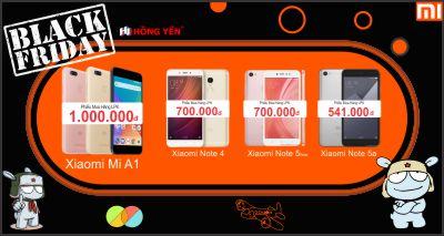 Black Friday Xiaomi 2017 Giá Giảm Sập Sàn