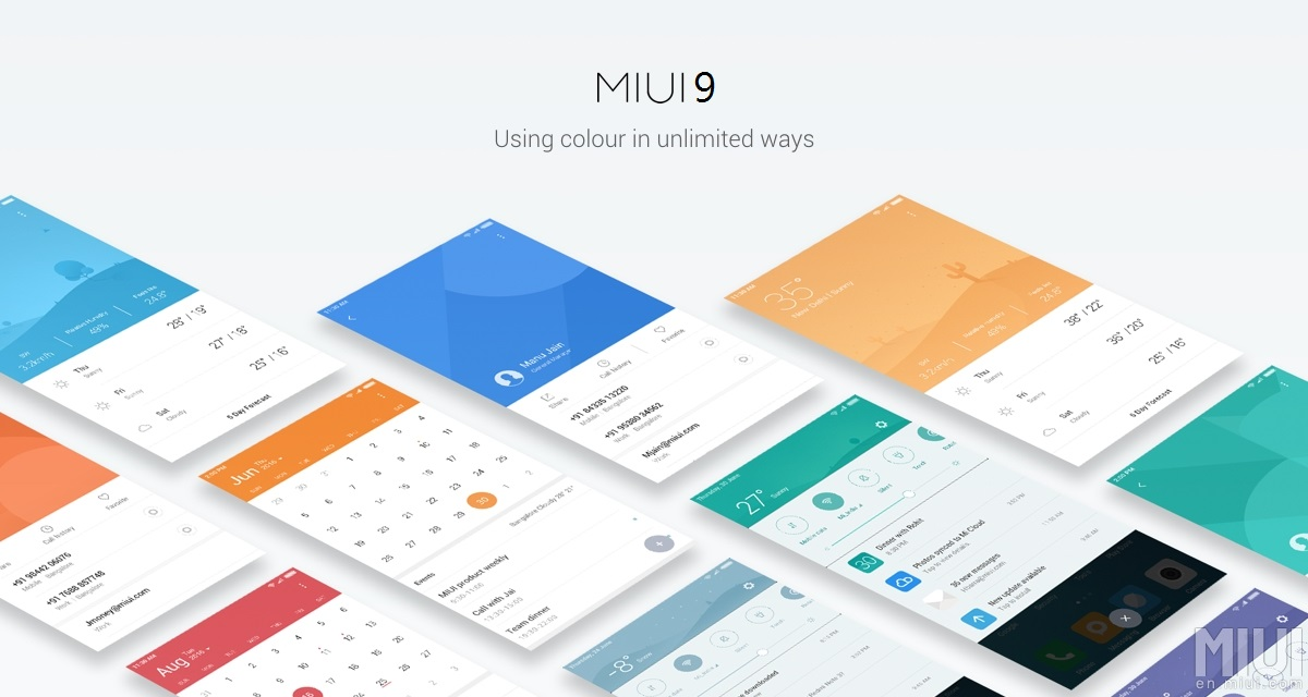 MIUI 9 Global Stabe Rom