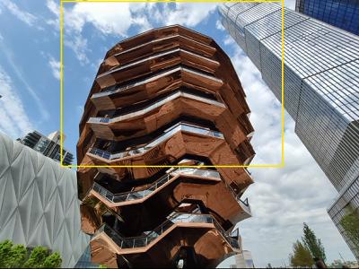 Camera góc rộng 124,8 độ cùng công nghệ tùy biến AI thông minh