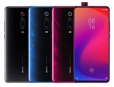 Với 3 màu sắc : Đen, Xanh, Đỏ trên điện thoại Xiaomi Mi 9T