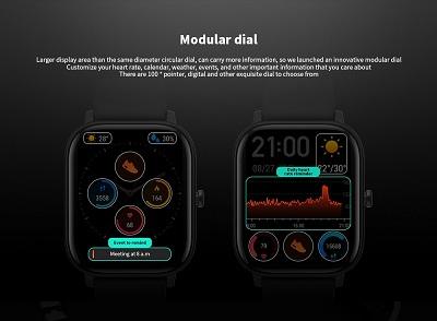 Tính năng đo nhịp tim và theo dõi độ căng thẳng trên Xiaomi Amazfit GTS