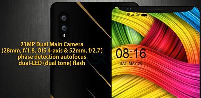 Xiaomi Mi 7 với camera độ phân giải cao.