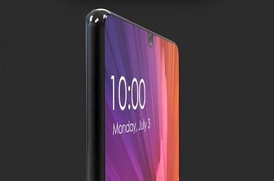 Xiaomi Mi 7 Với đường viền được vóc cong tinh tế.