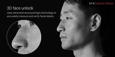 3D Face Unlock