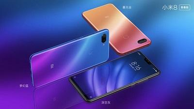 Điện thoại Xiaomi Mi 8 Lite