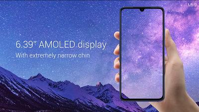 Màn hình sắc nét trên điện thoại Xiaomi Mi 9