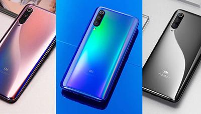 Xiaomi Mi 9 với các màu Gradient nổi bật