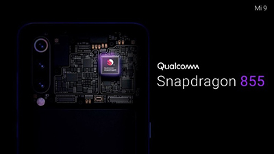 Mi 9 trang bị vi xử lý Qualcomm Snapdragon 855