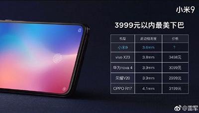 Thông số 3 camera sau của Xiaomi Mi 9 được tiết lộ cụ thể