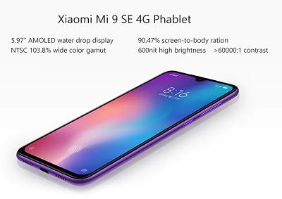 Sở hữu một kích thước lớn trên Xiaomi Mi 9 SE
