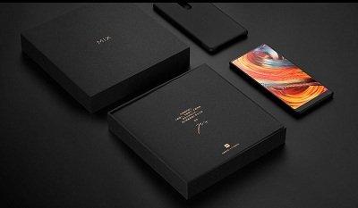 Phần hộp ngoài của Xiaomi Mix 2