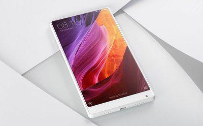 Xiaomi Mix 2 với màn hình 5.9inch, chuẩn nét, full HD